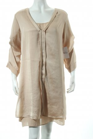 Schumacher Long-Bluse creme Eleganz-Look