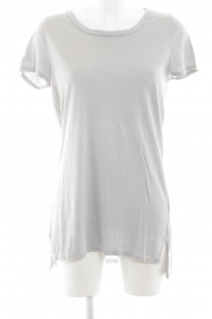 Schumacher Long Shirt white-light grey allover print casual look