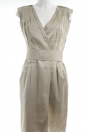 Schumacher Midikleid beige Business-Look