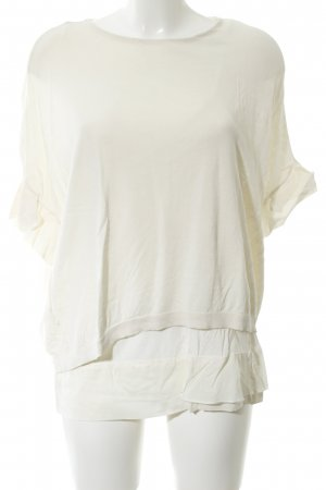Schumacher Oversized Shirt natural white business style