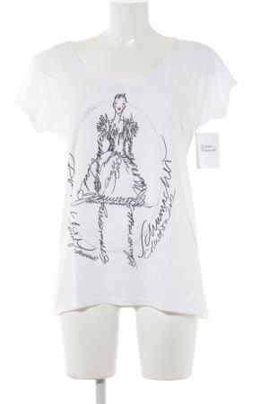 Schumacher Print-Shirt Motivdruck Casual-Look