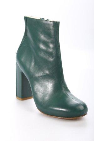 Schumacher Reißverschluss-Stiefeletten waldgrün Eleganz-Look