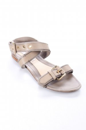 Schumacher Beach Sandals olive green street-fashion look