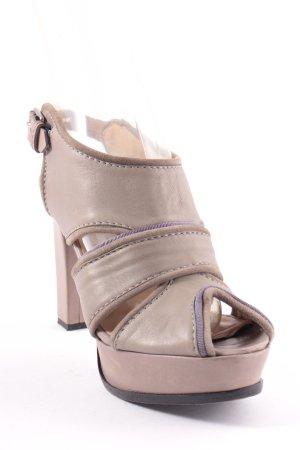 Schumacher Sandaletten graugrün-grau Elegant