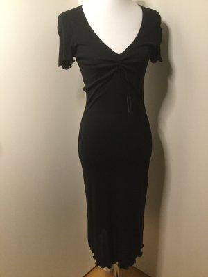 Schumacher schwarzes Sommerkleid mit luftigen offenen Ärmeln