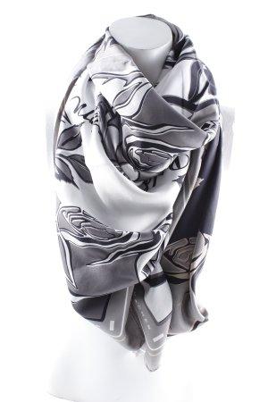 Schumacher Silk Scarf flower pattern casual look