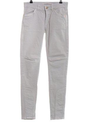 Schumacher Skinny Jeans hellgrau Casual-Look