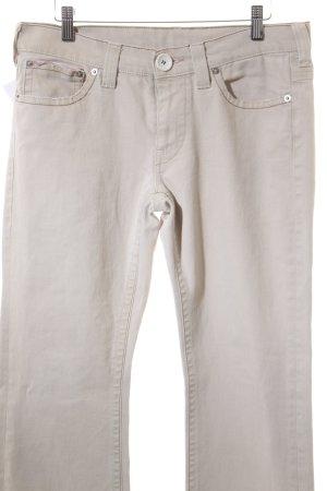 Schumacher Slim Jeans hellbeige Casual-Look