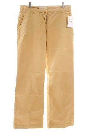 Schumacher Stoffhose beige Eleganz-Look
