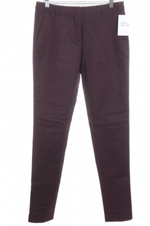 Schumacher Stoffhose bordeauxrot Business-Look