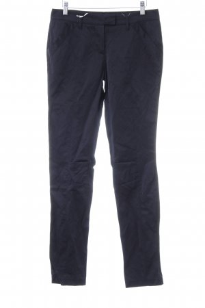 Schumacher Stoffhose dunkelblau Business-Look