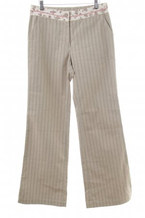 Schumacher Stoffhose florales Muster Casual-Look