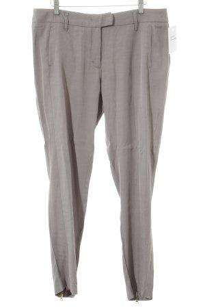 Schumacher Stoffhose grau schlichter Stil