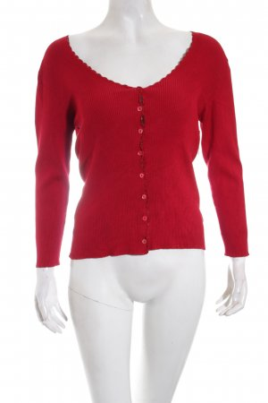 Schumacher Strick Cardigan rot Casual-Look