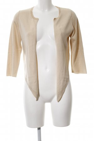 Schumacher Strickjacke creme Casual-Look