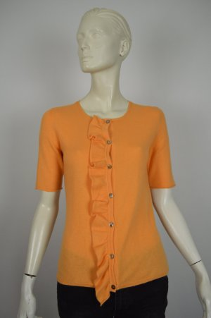 Schumacher Strickjacke Gr. 36 100% Kaschmir orange