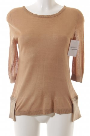 Schumacher Knitted Sweater light brown classic style