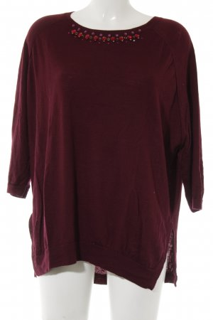 Schumacher Knitted Jumper bordeaux casual look