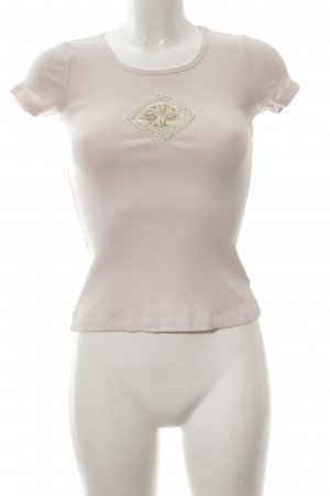 Schumacher Strickshirt pink Casual-Look