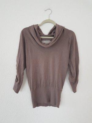 Dorothee Schumacher Sweater met korte mouwen grijs-bruin