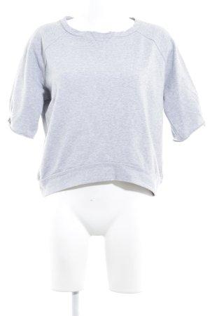 Schumacher Sweatshirt hellgrau schlichter Stil