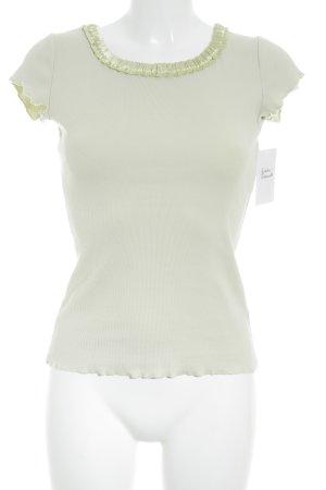 Schumacher T-Shirt blassgrün schlichter Stil
