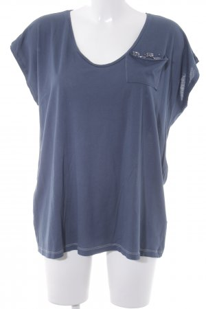 Schumacher T-Shirt graublau Casual-Look