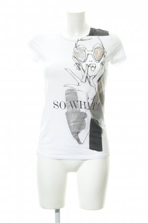 Schumacher T-Shirt Motivdruck Casual-Look