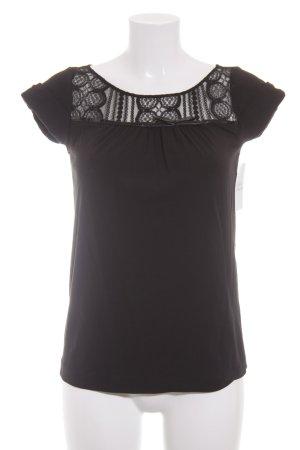 Schumacher T-Shirt schwarz Elegant