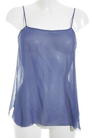 Schumacher Trägertop blau Street-Fashion-Look