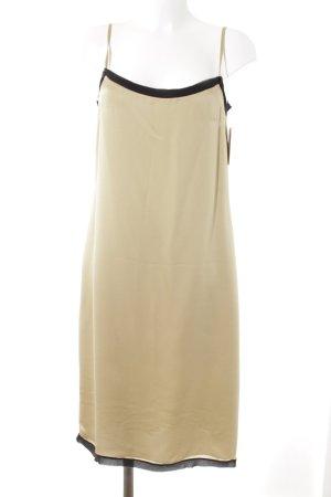 Schumacher Unterkleid goldfarben-schwarz klassischer Stil