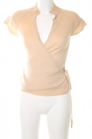 Schumacher Wraparound Shirt nude casual look