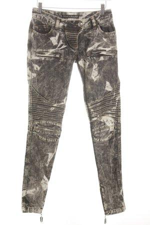 Schunk & Rosenfeld Jeans de moto taupe-gris Look de motard