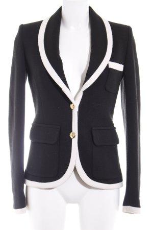 Schunk & Rosenfeld Blazer corto nero-crema elegante