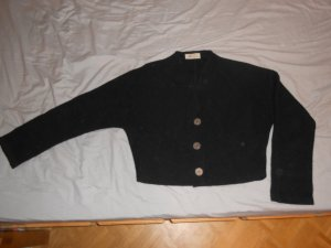 Bolero black new wool