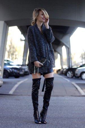 Schutz Heel Boots black party style