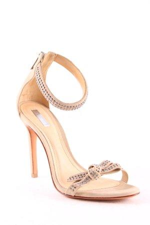 Schutz High Heel Sandaletten beige Elegant