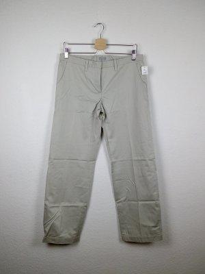 schutz und schmuck hose damenmode S 36 -NEU- hellgrau business casual fashion blogger