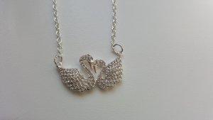 Collana argento-bianco