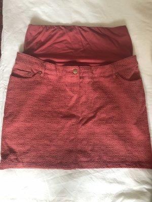 H&M High Waist Skirt salmon