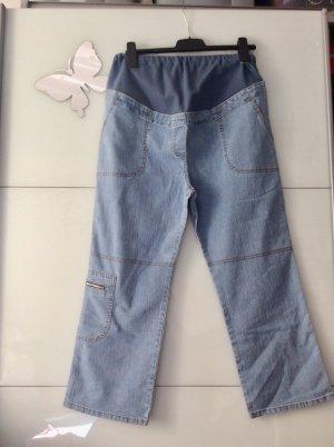 Schwangerschaftshose Jeans blau 38