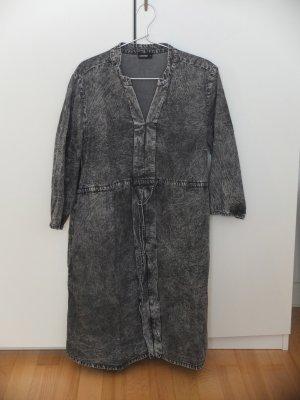 Schwangerschaftskleid grau, used-Denim