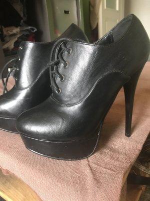 Schwartze high heels 37