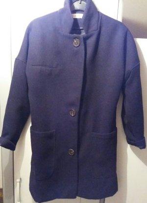 Schwartze Oversize Jacke in grosse S-M