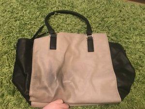 Schwarz-Beige Tasche