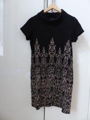 schwarz - beiges Kleid