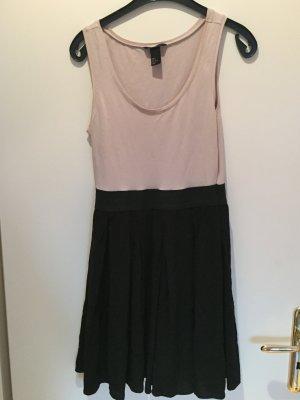 Schwarz-Beiges Kleid von H&M