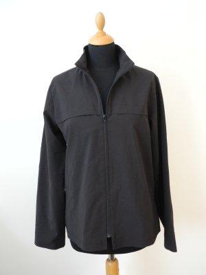 schwarz black Jacke Scandi minimalistisch minimal Design leicht Übergang -blazer Jacke Reißverschluss Zip Langarm