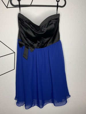 Ann Christine Bustier Dress black-blue