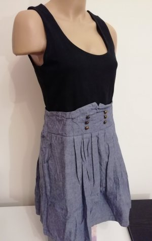 AJC Denim Dress black-steel blue